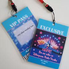 Personnalisé Disney Mickey Noël Anniversaire VIP Gift Pass Lanyard-toute formulation