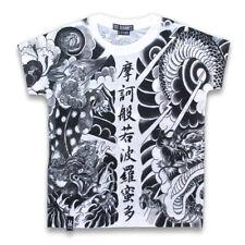 Six bunnies punk enfants kids t-shirt - 10 Dragon Dragon Japon style tatouage