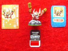 Trigger Happy Skylanders spyros Adventure, Skylander personaje, tecnología nuevo sin