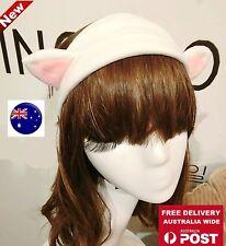 Women Lady Girl kid Cat Kitty Animal Costume Ears Party Hair Bath head band Prop