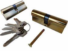 Zylinderschloss 60/70/80mm Schließzylinder Türschloss inkl. 5 Schlüsseln