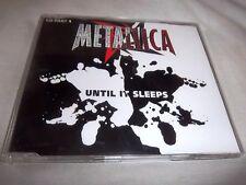 METALLICA-UNTIL IT SLEEPS PART 1 3TRKS VERTIGO METCD 12 MINT GERMAN CD