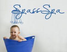Wandtattoo Spass Spa Badezimmer Wellness Badewanne Wandaufkleber Sticker wal025