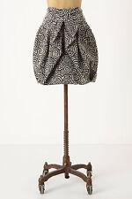 Draped Jungle Skirt Black Jacquard By Eva Franco Anthropologie Sizes 0, 6, 8, 10
