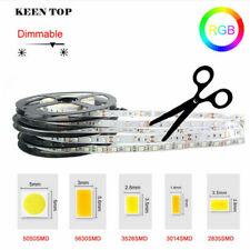 5M  LED Stripe 2835 5050 5054 5630 SMD Lichterkette Lichtband Schlauch Streifen