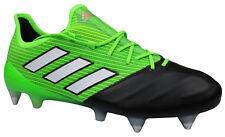Adidas ACE 17.1 SG Fußballschuhe Leder Stollen grün schwarz BA9749 Gr 39-48 NEU