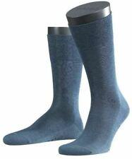 Falke Mens Melange Tiago Midcalf Socks - Denim Blue