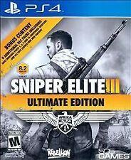 Sniper Elite III -- Ultimate Edition (Sony PlayStation 4, 2015)
