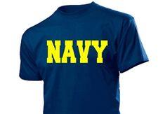 FR Bleu Marine Tee-shirt US Army Armée de l'air militaire gr S-XXL entraînement