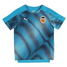 Valencia CF senza maniche jersey di formazione-BLU GIROCOLLO DA UOMO