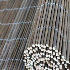 Weidenmatte Zaun Weidenzaun Sichtschutzmatte  Garten Bambus Balkonblende Natur
