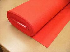 1 Cuadrado Yardas 91.4cm x 91.4cm Rojo Bayeta/Fieltro Manualidades Tejido