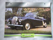 Daimler Conquest Dream Cars Card