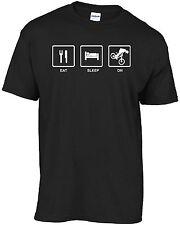 Downhill mountain bike  ( EAT SLEEP DH ) t-shirt