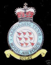 RAF RED ARROWS PIN TEAM AIR SHOW ROYAL AIR FORCE CROWN