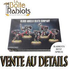 Warhammer 40000 Blood Angels Compagnie de la mort Vente au détail Rabiots Bitz