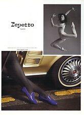 PUBLICITE ADVERTISING 2010 REPETTO Mocassins chaussures par Marie Agnés GILLOT