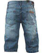 SHINE ORIGINAL Jeans Shorts Fifth Avenue Snap Blue