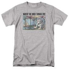 Where the Wild Things Are T-shirt Retro Childrens Book graphic t-shirt WBM709