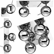 Deckenlampe Wandlampe Retro Halogen Chrom Kugelleuchte - DESIGN TRIO / REALITY