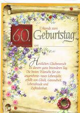 Glückwunschkarte 70 Geburtstag mit Schleife weinrot