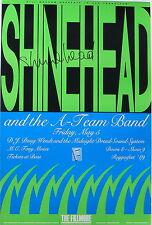 SHINEHEAD signed, MIDNIGHT DREAD,TONY MOSES mint Reggaefest '89 Fillmore poster