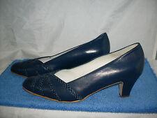 Damenschuh Leonie PUMPS NEU Gr. 37,5 H in dunkelblauem Nappaleder