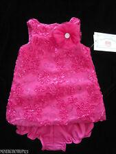 MARMELLATA SOUTACHE SHIFT DRESS~FUSCIA PINK~3/6M~6/9M~9/12M~NWT