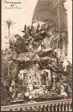046 CHILE QUILLOTA EL PESEBRE DE LA PARROQUIA  POSTCARD 1921