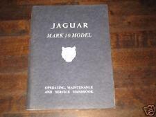Betriebsanleitung Jaguar Mark 10 / Mk. X