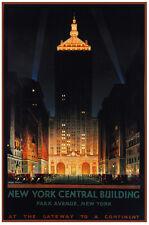 New York Vintage Decoration & Design Poster.Park Avenue.Home art Deco 794i