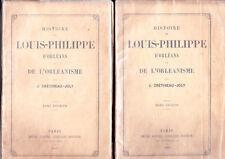 C1 LEGITIMISME Cretineau Joly HISTOIRE LOUIS PHILIPPE ORLEANS et ORLEANISME 1867