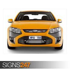 ORANGE FPV GT auto (AD259) POSTER AUTO-Foto immagine stampa poster art A0 a A4