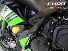 Kawasaki Ninja 650 2017 RD Moto Crash Frame Sliders Black K44S-SL01-K