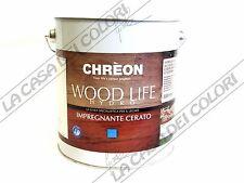 CHREON - WOOD LIFE HYDRO IMPREGNANTE CERATO - TINTE CARTELLA - 3 lt - ALL'ACQUA
