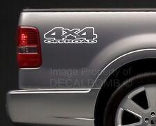 2) 4x4 Bedside Decals Stickers mud turbo diesel utv atv rzr truck Style #7