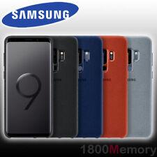 GENUINE Samsung Galaxy S9+ S9 Plus SM-G965 Alcantara Back Cover Case Suede-Like