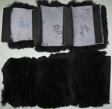 Natural Sheepskin Dog Harness Strap Pads 3 piece set Covers Leash Walking Gear