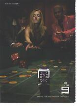 PUBLICITE  ADVERTISING 2008 FESTINA la montre
