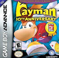 Rayman: 10th Anniversary (Nintendo Game Boy Advance, 2005) CART ONLY
