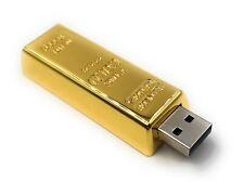 Lingotti D'Oro Nobile di Metallo Funny Chiavetta USB Div Kapazitäten
