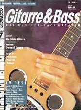 Gitarre und Bass # Juli 1991 -SLIDE GITARRE- Dweezil Zappa, Scorpions,...