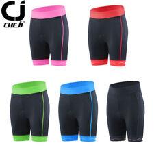 CHEJI Women's Cycling Shorts GEL Pad Bike Bicycle Shorts Pants Tight Shockproof