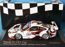 PORSCHE 911 GT3 CUP #124 SPA 2005 MATTHEUS MINICHAMPS