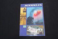 P212 RARE CATALOGUE TRAIN MARKLIN 1969  64 pag Etat bon