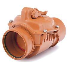 110-200mm Polipropileno Comprobar No-Retorno Anti-Inundación Válvula Remanso