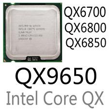 intel Xeon QX6700 QX6800 QX6850 QX9300 QX9650 LGA775 CPU Processor