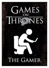 Games On Thrones The Gamer Mini Poster 32x44cm
