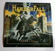 HAMMERFALL HAMMER FALL RENEGADE HORSE CASTLE FIRE GUITAR CASE VERY RARE STICKER