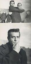 George Nadar - zwei Aufnahmen bei Dreharbeiten 70er Jahre
